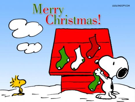 merry christmas snoopy