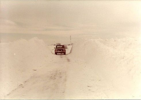 Snow of 1979 in DeKalb County, Illinois