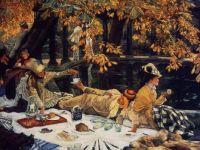 "James Tissot, ""Holiday"", 1876"