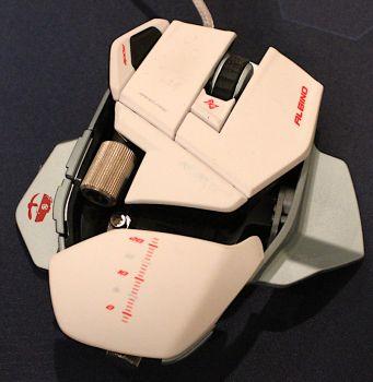 MadCatz Cyborg R.A.T. 7 albino mouse