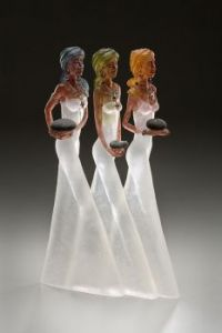 Delicate ladies of glass