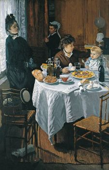 Claude Monet - The Luncheon, 1868 (May17P14)