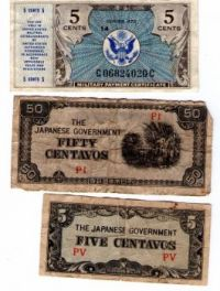 "U.S. Military ""Scrip"" & Japanese ""Invasion Money (Theme Puzzle)"