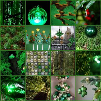 Christmas Green by Diogioscuro on flickr