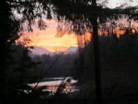 Sunrise on the Stillaguamish River