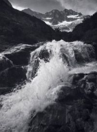 Waterfall, Northern Cascades, Washington