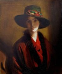 Frank Owen Salisbury  Portrait young Lady[