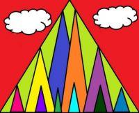Triangle Mountain Doodle