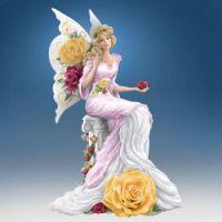 Yellow Rose Winged Beauty