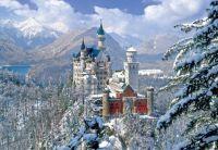Winter at Neuschwanstein Castle