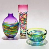 Trio of Blown Glass Beauties