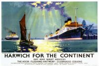 Frank H. Mason. Harwich for the Continent. LNER