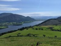 Bassenthwaite with Skiddaw to the left, Lake District, UK