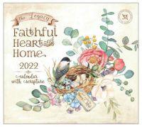 The Legacy 2022 Wall Calendar Faithful Heart and Home