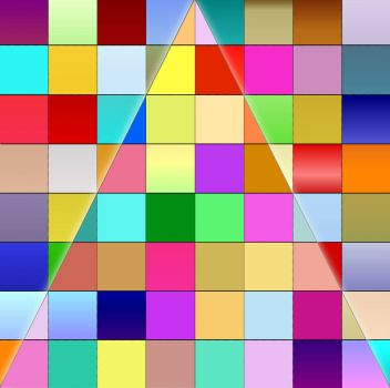 TRIANGLE OF SQUARES