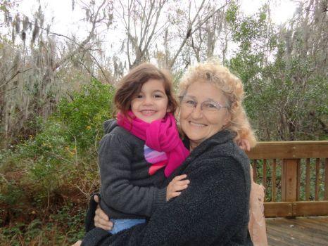 Me & my great-grandaughter Leonna