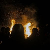 Bonfire Night, November 5, Bay Roberts, NL