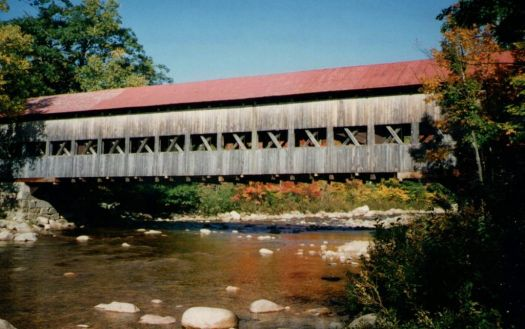 Albany Covered Bridge in NH 1996