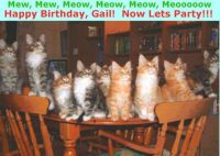 Happy Birthday Gail and Best Wishes for Many, Many More!!!