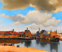 view-of-delft by Johannes Vermeer