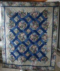 Garden Twist quilt