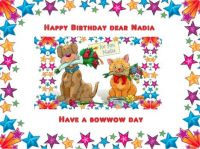 Happy Birthday dear Nadia (Chita1023's dog)