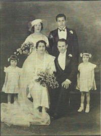 Mom and Dad's Wedding 1934