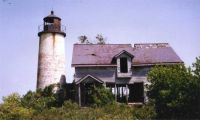 Charity Island Lighthouse in Lake Huron