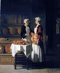Claude Joseph Bail (1862 - 1921) - Bread Sale