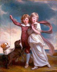 """Portrait of the Clavering Children"""