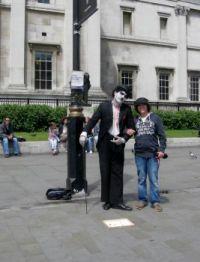 Trafalgar Square Mime 3
