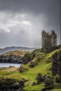 Gylen Castle Scotland
