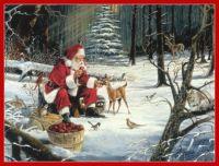 Deer Santa,