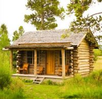 Little Cabin in the Middle of Nowhere...