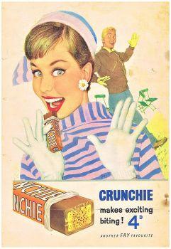 Themes Vintage ads - Crunchie