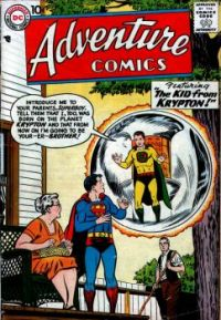 """Superboy in """"The Kid From Krypton"""""""
