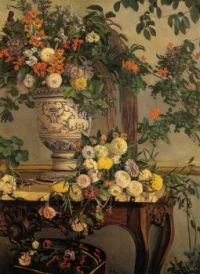 Flowers, Frederic Bazille