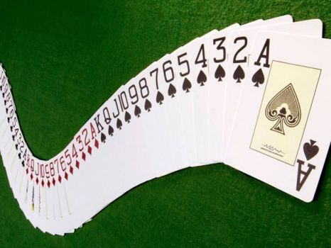 THEME: Things with numbers: playing cards