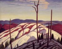 First Snow, North Shore of Lake Superior by Lawren Harris