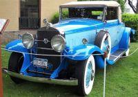 1931 Cadillac 365-A Fleetwood -