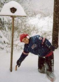 Winter snowfall in 14220!