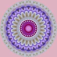 kaleidoscope 346 pastel mandala small