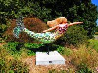 Mermaid. Botanical Gardens, Norfolk Virginia