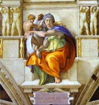Michelangelo - The Sibyl of Delphi