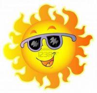 8433508-happy-soleil-avec-des-lunettes-de-soleil