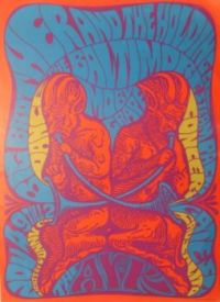 Vintage poster The Ark, Sausalito 1967