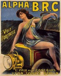 1900s Alpha B.R.C.