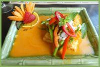 Thais eten.  Thai food.