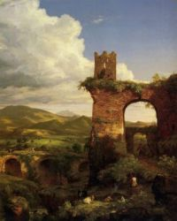 Cole, Thomas (1801-1848) - The Arch of Nero (1846)
