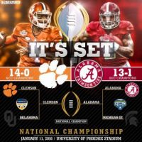 Bama Advances to Championship!